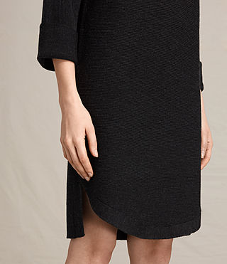 Womens Esia Dress (Cinder Black Marl) - product_image_alt_text_4