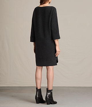 Womens Esia Dress (Cinder Black Marl) - product_image_alt_text_7