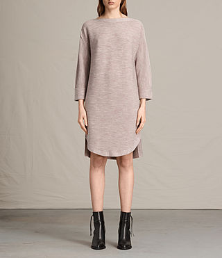 Damen Esia Dress (QUARTZ PINK MARL)
