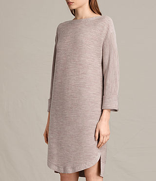 Womens Esia Dress (QUARTZ PINK MARL) - product_image_alt_text_6