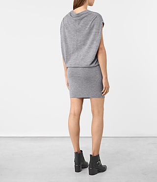 Donne Dornie Merino Dress (Grey Marl) - product_image_alt_text_5