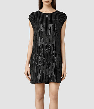 Womens Mabli Dress (Black)