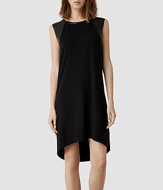 Womens Alienor Dress (Black/Black)