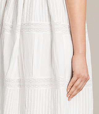 Women's Pinto Dress (Chalk White) - product_image_alt_text_5