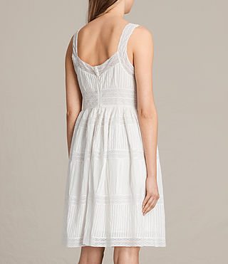 Women's Pinto Dress (Chalk White) - product_image_alt_text_7
