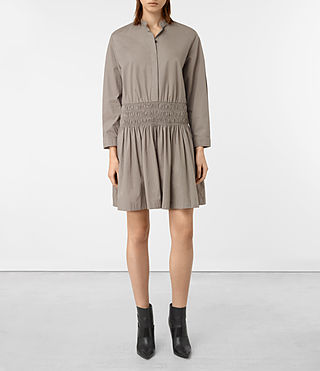 Damen Bria Dress (Chrome Grey)