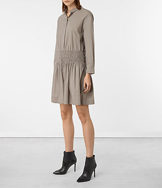 Femmes Bria Dress (Chrome Grey) - product_image_alt_text_3