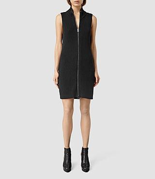 Womens Helm Dress (Black)