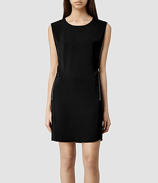Womens Ophelia Dress (Black)