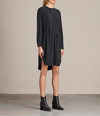Damen Celi Kleid (Black) - product_image_alt_text_3