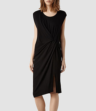 Womens Leena Dress (Black)