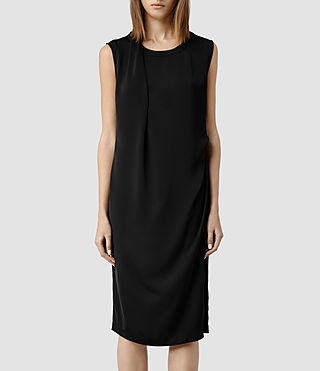 Womens Halcyon Dress (Black)
