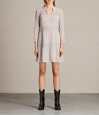 Women's Nima Short Dress (CHAMPAGNE PINK)