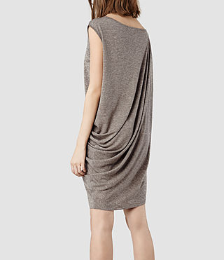 Womens Rally Tee Dress (Fawn Marl) - product_image_alt_text_3