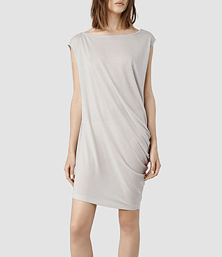 Womens Rally Tee Dress (Stone)