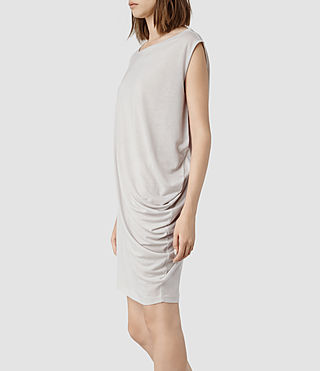 Womens Rally Tee Dress (Fawn Marl) - product_image_alt_text_2