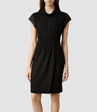Womens Rhian Dress (Black)