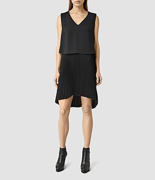 Womens Taya Dress (Black)