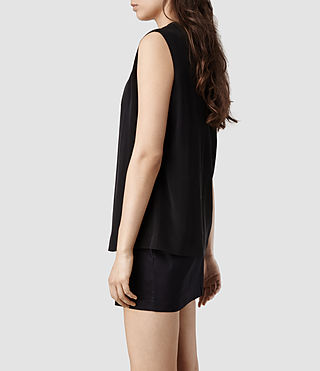 Womens Bianca Dress (Indigo/Black) - product_image_alt_text_2