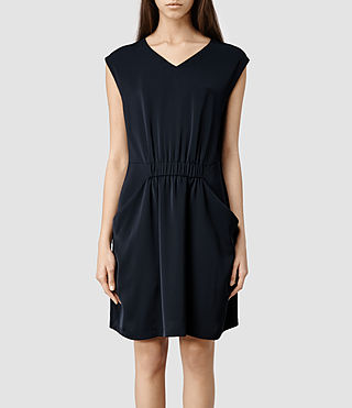Womens Thea Dress (Midnight)