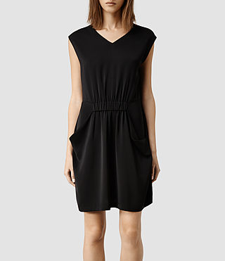 Womens Thea Dress (Black)