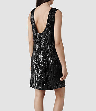Womens Lucia Dress (Black)
