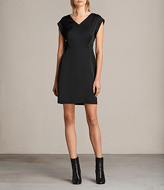 Damen Elsie Dress (Black) -