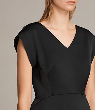 Damen Elsie Dress (Black) - product_image_alt_text_2