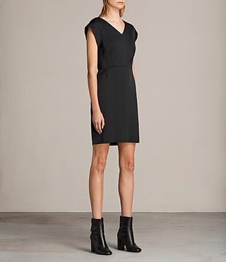 Damen Elsie Dress (Black) - product_image_alt_text_3