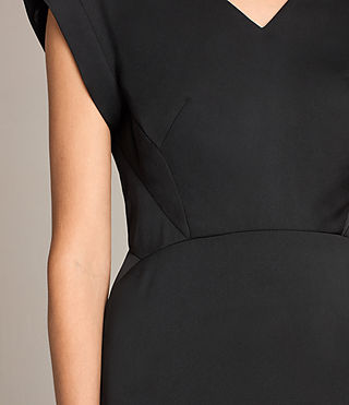 Damen Elsie Dress (Black) - product_image_alt_text_4