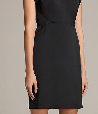 Damen Elsie Dress (Black) - product_image_alt_text_5
