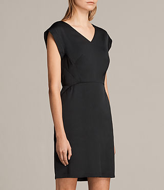 Damen Elsie Dress (Black) - product_image_alt_text_6