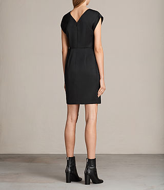 Womens Elsie Dress (Black) - Image 7