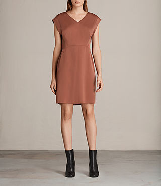 Womens Elsie Dress (Copper) - Image 1