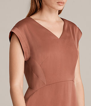 Womens Elsie Dress (Copper) - Image 2
