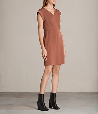 Womens Elsie Dress (Copper) - Image 3