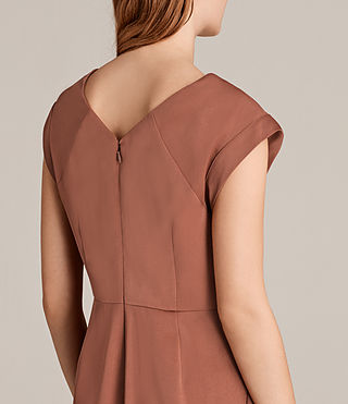 Womens Elsie Dress (Copper) - Image 4