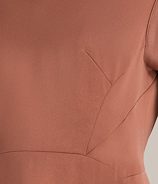 Womens Elsie Dress (Copper) - Image 5