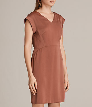 Womens Elsie Dress (Copper) - Image 6
