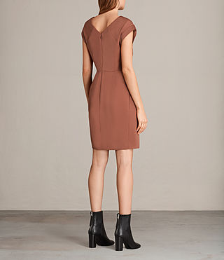 Womens Elsie Dress (Copper) - Image 7