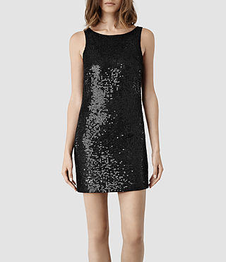 Womens Annelin Dress (Black)