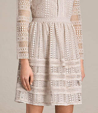 Women's Rowan Lace Dress (CHAMPAGNE PINK) - product_image_alt_text_5