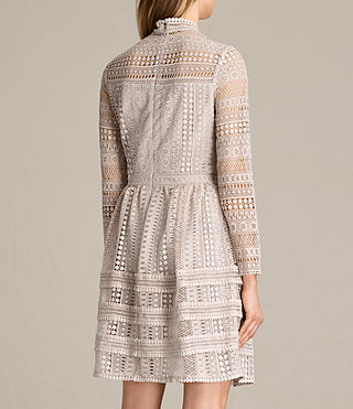 Women's Rowan Lace Dress (CHAMPAGNE PINK) - product_image_alt_text_6