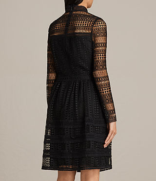 Damen Rowan Lace Dress (Black) - product_image_alt_text_7
