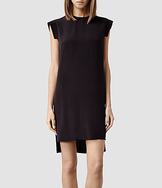 Womens Tonya Lew Dress (LIQUORICE)