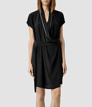 Women's Adria Dress (Black)