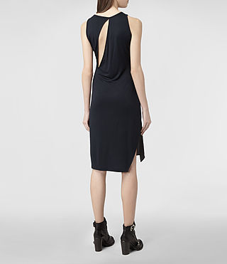 Womens Carine Dress (Black/Ink) - product_image_alt_text_3