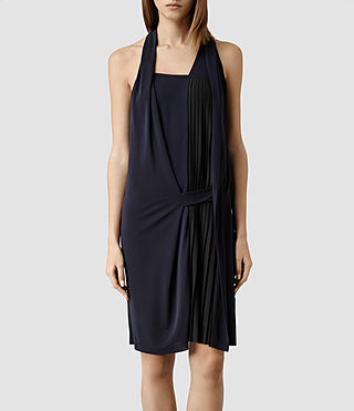 Women's Olwen Dress (Petrol)
