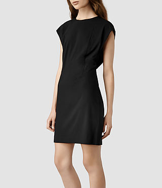 Womens Reyla Dress (Black)