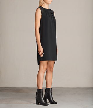Damen Jay Dress (Black) - product_image_alt_text_3